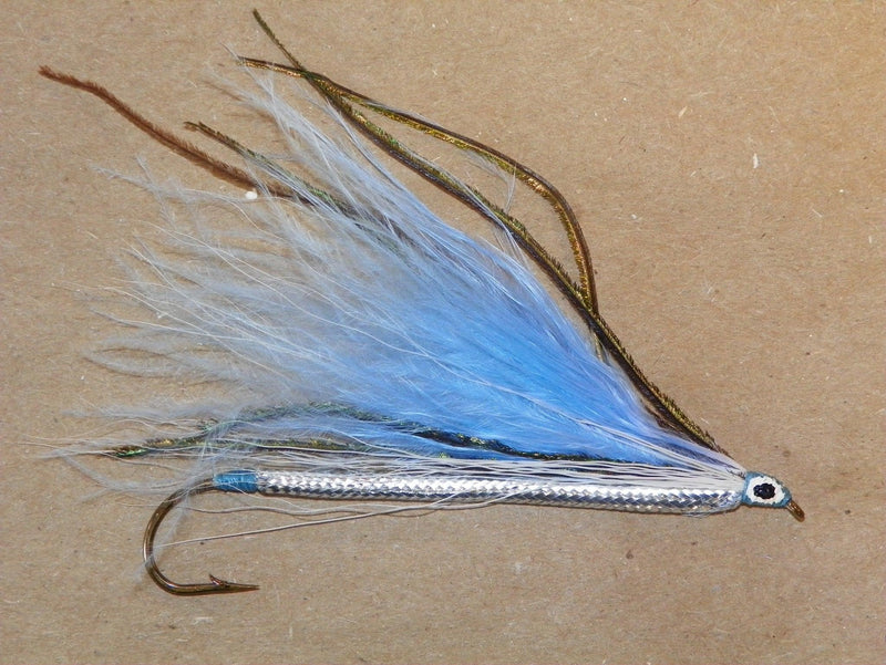 Frost's Blue Smelt - Marabou     #2     8X long