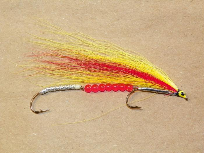 Mickey Finn With Beads from Rangeley Maine fly fishing shop