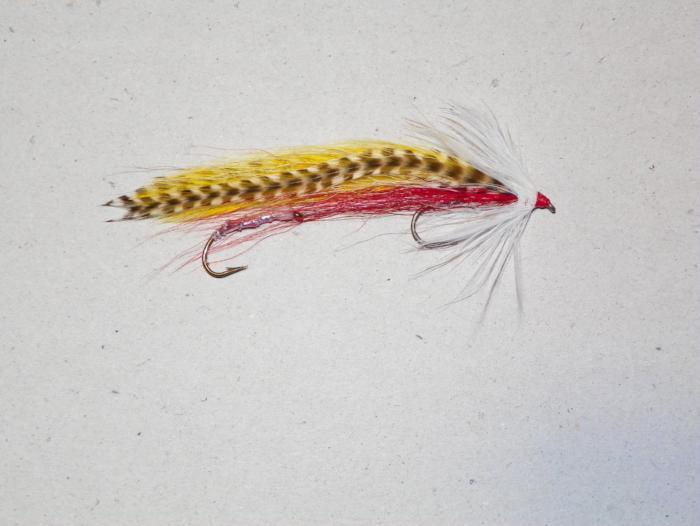 barnes special tandem trolling fishing fly tied by Fishing Favorites