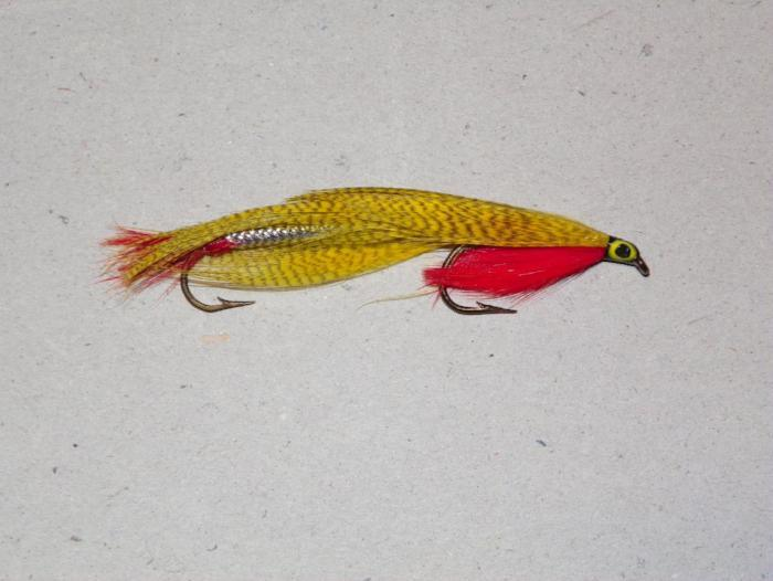 Joe's Smelt Yellow from Rangeley Maine fly fishing shop