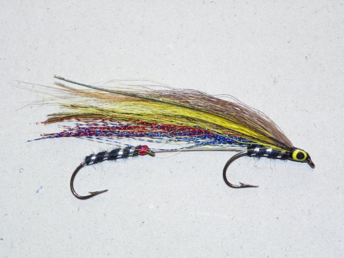 Herb Johnson fly from Rangeley Maine fly fishing shop