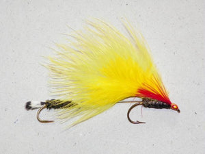 Light Edson Tiger-Marabou from Rangeley Maine fly fishing shop