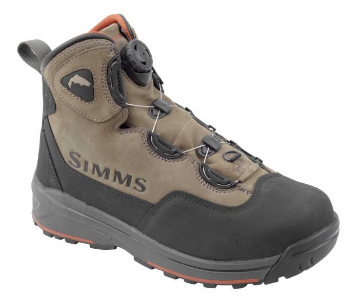 simms headwaters boa boot from Rangeley Maine fly fishing shop