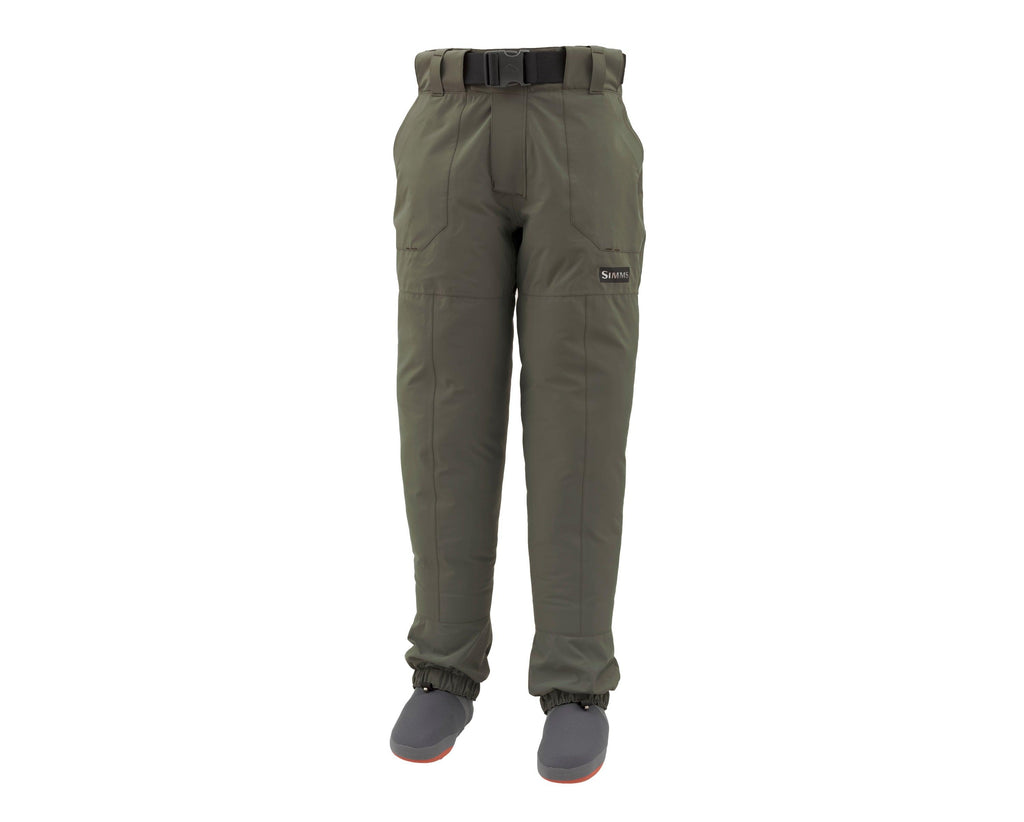 freesstone pant waders at a maine fly shop