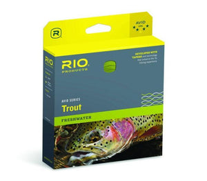 rio avid trout from Rangeley Maine fly fishing shop