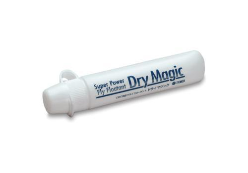package of dry magic a unique silicone floatant for use on dry flies including CDC