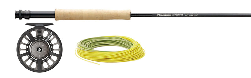 Sage foundation fly rod at a maine fly shop