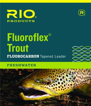 rio fluoroflex tapered leader from Rangeley Maine fly fishing shop