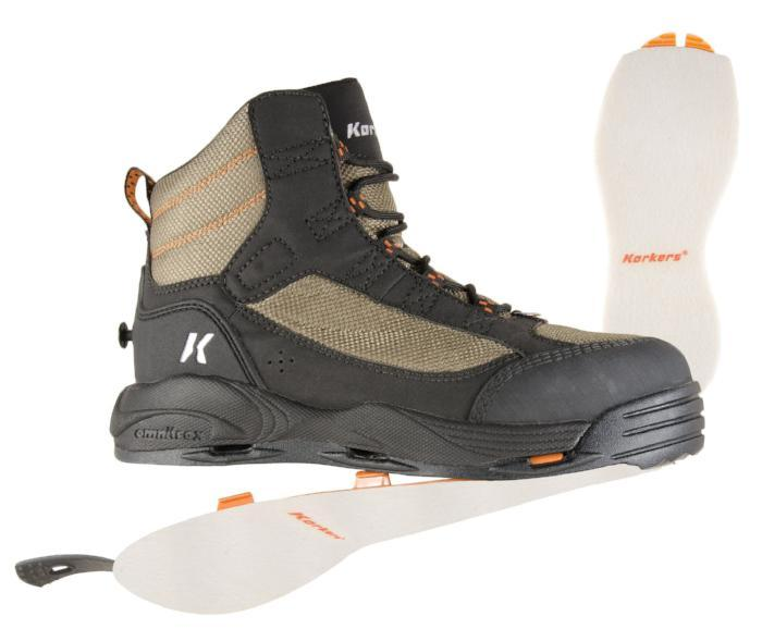 Korkers Greenback Boot from Rangeley Maine fly fishing shop