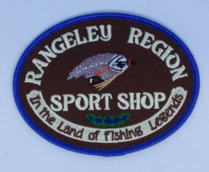 RRSS sign embroidered patch