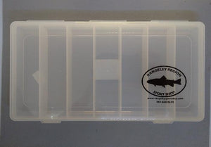 7 Compartment Fly Box for Streamers