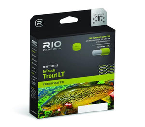 rio intouch trout lt double taper from Rangeley Maine fly fishing shop