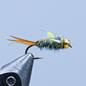 pscho prince at a maine fly shop
