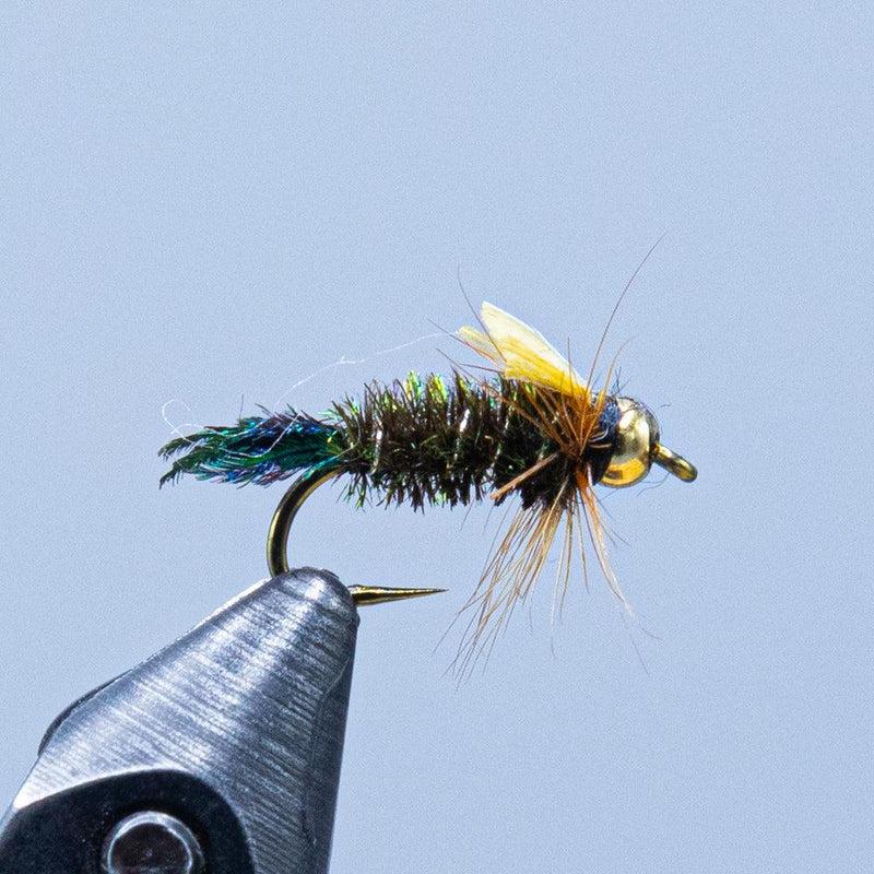 beadhead zug bug at a maine fly shop