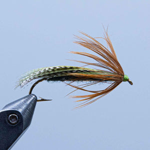 teal strip at the rangeley fly shop
