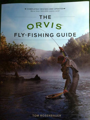 orvis fly fishing guide revised edition from Rangeley Maine fly fishing shop