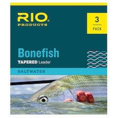 Rio Bonefish tapered leader 3 pack