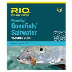 package of Rio Bonefish/Saltwater tapered floroflex (fluorocarbon) leaders