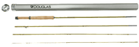 Douglas Upstream four piece fly fishing rod and carrying tube