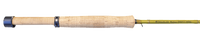 all cork reel seat and handle of the Douglas Upstream fly rod series