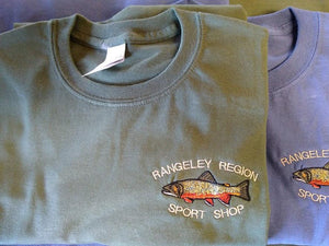 Embroidered Brook Trout T-shirt