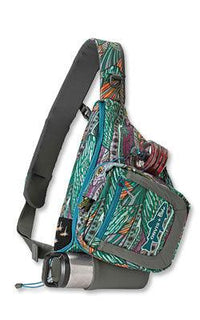 fishewear patterned Safe Passage Sling Pack for fly fishing from Orvis