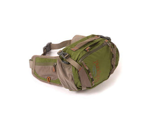 Fishpond Encampment Lumbar Pack at a maine fly shop