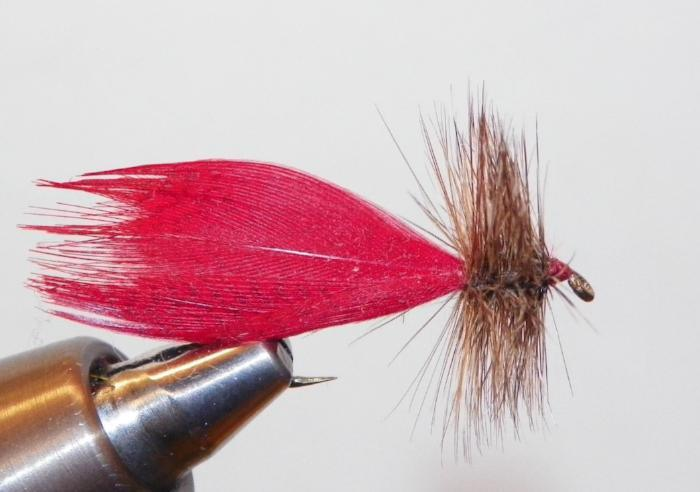 Hornberg fly from Rangeley Maine fly fishing shop