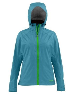 women's simms hyalite rain shell from Rangeley Maine fly fishing shop