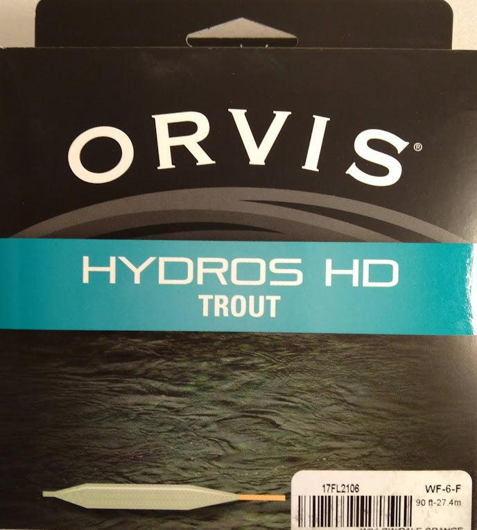 orvis hydros hd trout fly line from Rangeley Maine fly fishing shop