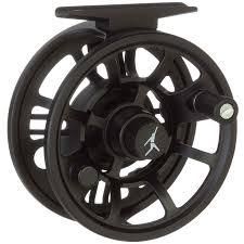 a black Echo Ion large arbor fly fishing reel available in three sizes