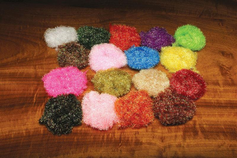17 colors of Krystal flash chenille