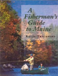 Cover of book showing fall scene of couple fly fishing from a canoe