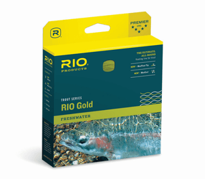 rio gold flyline from Rangeley Maine fly fishing shop