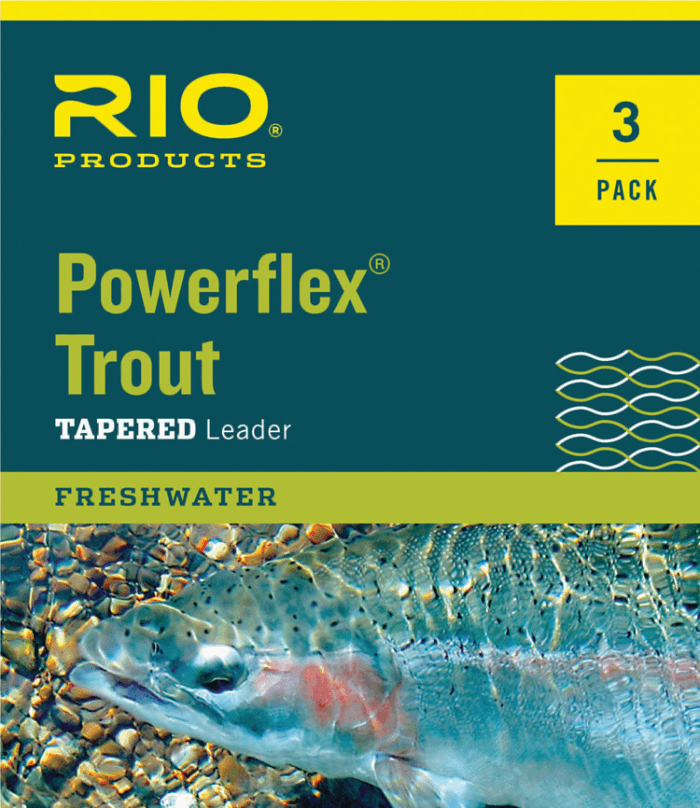 Powerflex Trout Leaders - 3 pack