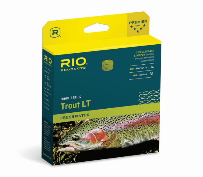 rio trout lt from Rangeley Maine fly fishing shop