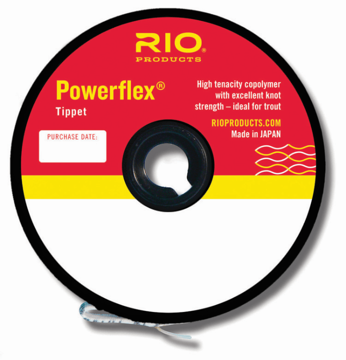 powerflex tippet from Rangeley Maine fly fishing shop