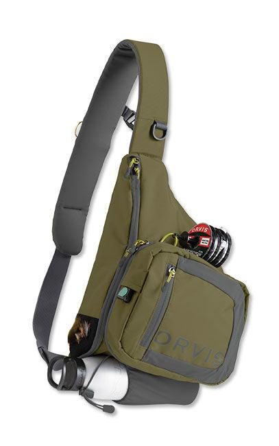 safe passage sling pack from Rangeley Maine fly fishing shop