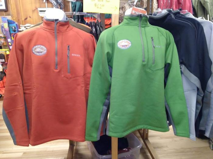 simms guide mid top with embroidered shop logo from Rangeley Maine fly fishing shop