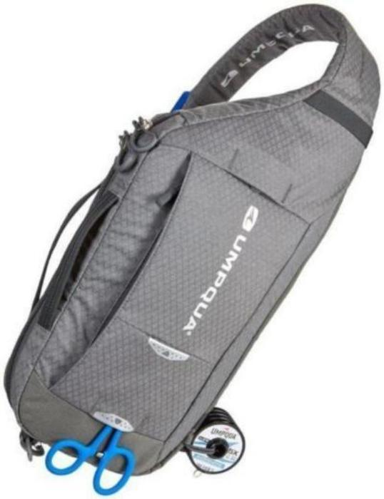 Umpqua sling pack  Switch 600 ZS can be worn on either shoulder