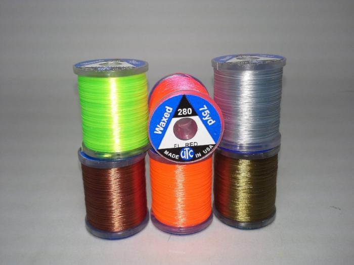 utc ultra thread 280 denier from Rangeley Maine fly fishing shop