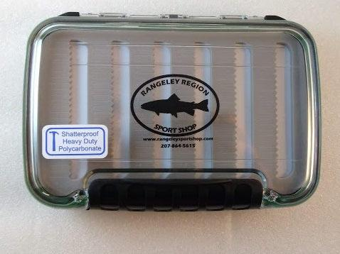 Two - sided waterproof fly box