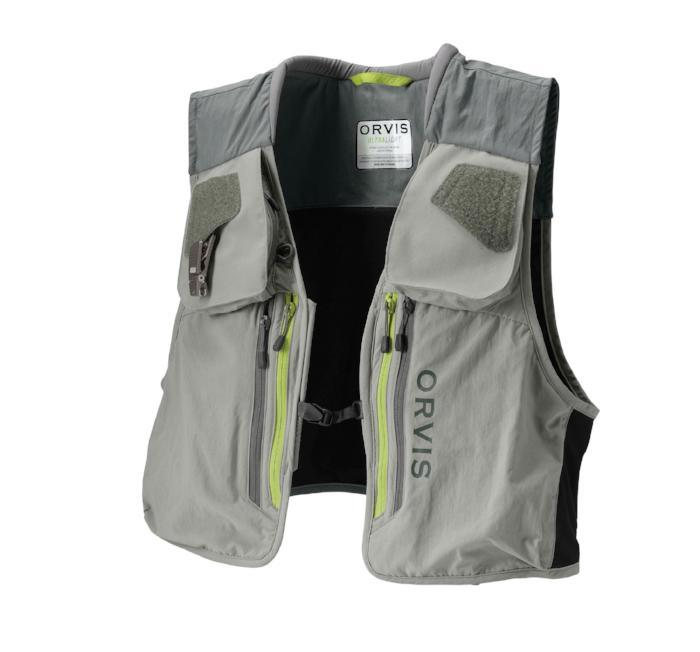 orvis ultralight vest from Rangeley Maine fly fishing shop