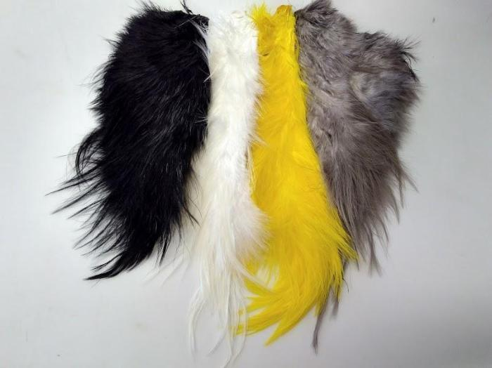 whiting bird fur from Rangeley Maine fly fishing shop