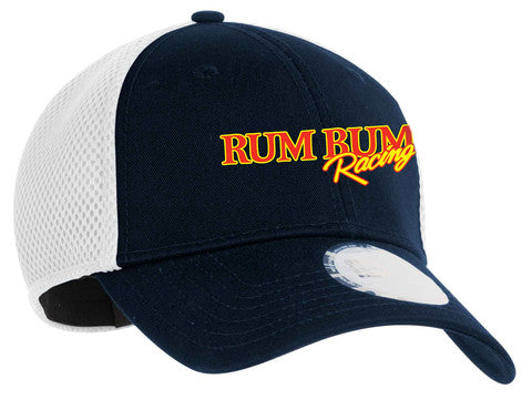 Rum Bum Racing - Stretch Mesh - Hat - Navy/White