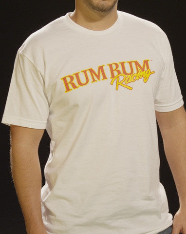 Rum Bum Racing - Fitted Crew - White (Male)