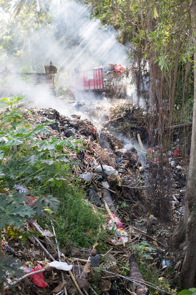 Bali trash disposal challenge