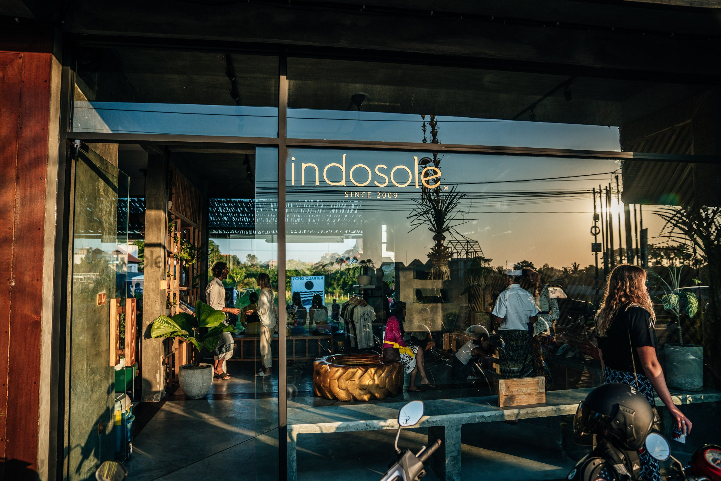 Storefront of Indosole's Canggu, Bali location in Indonesia