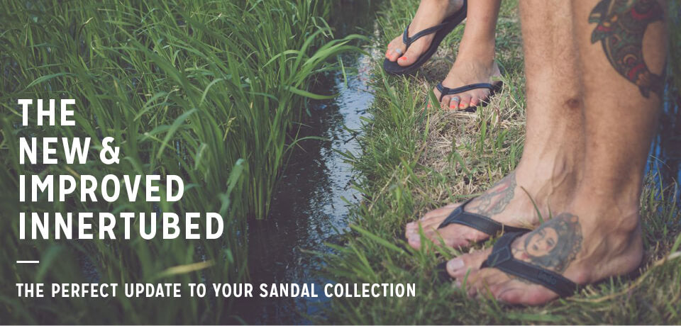 Indosole Innertube Sandals Main Banner