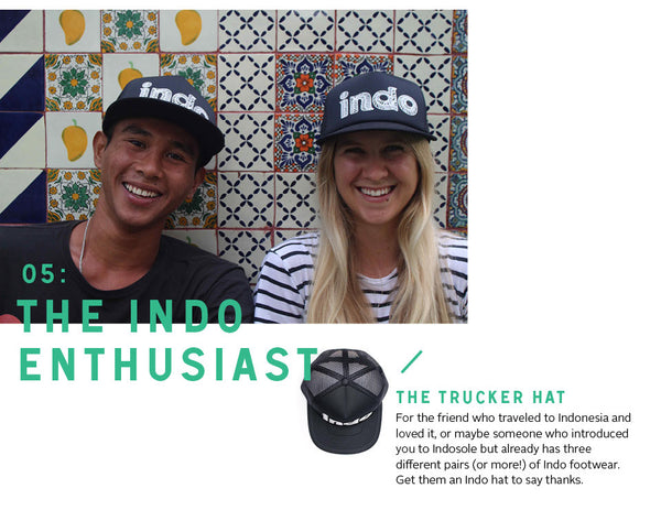 For the Indo Enthusiast: the Indo trucker hat